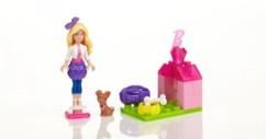 Kit d'accessoires Barbie Build'n Style - Barbie et son chiot