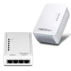Kit point d'accès 300 Mbp/s et CPL 500 Mbp/s TrendNet