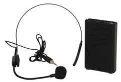 Microphone-casque de tête sans fil Ibiza