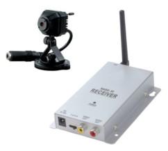 micro caméra de surveillance sans fil trebs cc-113 format webcam
