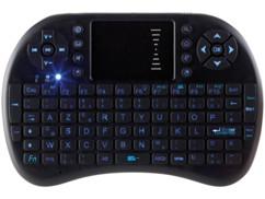 mini clavier sans fil azerty bluetooth pour windows linux android avec touchpad touches directionnelles acces rapide generalkeyz