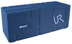 mini enceinte portable sans fil design trust urban revolt streetbeat bleu avec micro