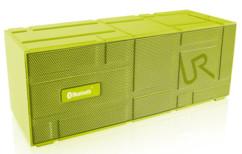 mini enceinte portable sans fil design trust urban revolt streetbeat jaune vert lime avec micro