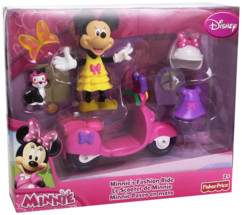 minnie et son scooter fisher price w5115 en boite