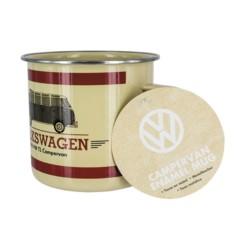 mug en email design retro volkswagen combi
