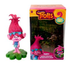 nain de jardin original trolls poppy fille cheveux roses