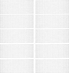 Pack de 100 peignes de reliure format A4 - 8 mm - Blanc