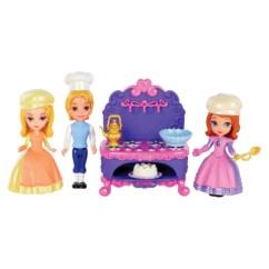 pack de 3 figurines princesse sofia disney 39 cuisine en famille