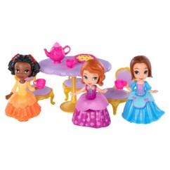 pack de 3 figurines princesse sofia disney 38 thé pour trois