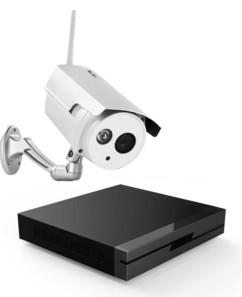 kit enregistreur full hd 7links avec caméra de surveillance sans fil visortech