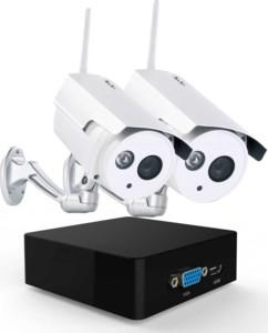 MINI ENREGISTREUR de surveillance avec 2 caméras IP infrarouge 7links