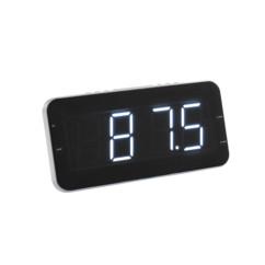 radio reveil horloge grand affichage et recherche automatique de la fréquence radio clipsonic ar311