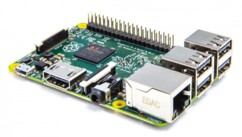 Raspberry Pi 3 - type B (ARM Cortex-A53, 1 Go RAM)