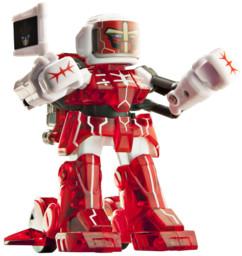 battroborg rouge robot radioguidé de boxe