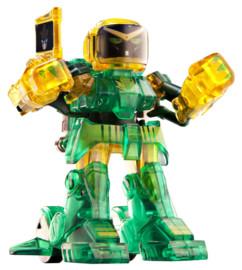 mini robot radiocommandé avec reconnaissance de mouvement battroborg vert