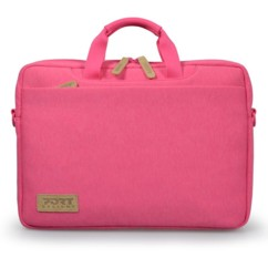 sacoche pc laptop 13,3 pouces macbook pro rose girly Port torino TL