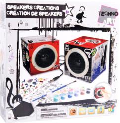 Speakers audio stéréo customisables pour graçon avec peinture et stickers