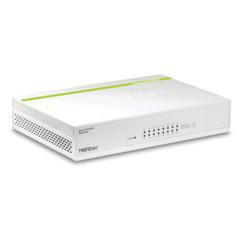 switch ethernet gigabit haut débit 16 ports trendnet teg16d