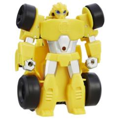 jouet transformers bumblebee voiture f1 transformable en robot avec roues à retrofriction playskool rescue