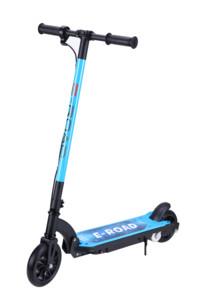 trottinette electrique pour enfant 100w vitesse max 13kmh couleur bleu pour garcon e-road