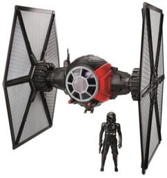 Vaisseau Tie Figher Star Wars avec son pilote