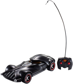 voiture radiocommandée star wars dark vador hot wheels