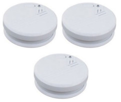 3 détecteurs de fumée norme CE - EN 14604