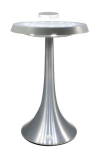 Base électromagnétique lumineuse MagneticLand - Argent