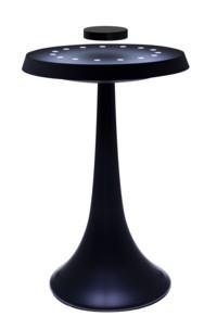 lampe led de salon base magnetique pour objets en levitation magnetic land