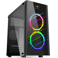 boitier PC gaming avec led rvb rgb couleurs sog spirit of gamer deathmatch 6 pour carte mere micro atx mini itx