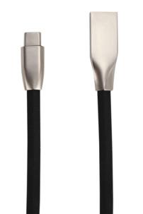 câble plat design usb type c vers type a pour connexion macbook air vers tv version noir