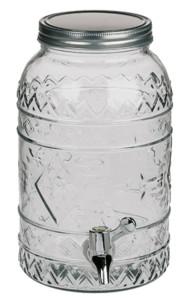 Carafe distributeur en verre 3,5 L - Tiki