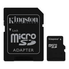 carte micro sd 2 go classe 4 kingston avec adaptateur SD