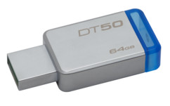 Clé USB 3.0 Kingston DataTraveler 50 - 64 Go