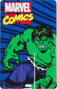Clé USB plate 8 Go - collection Marvel Comics Vintage - Hulk