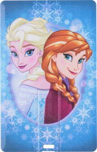 Clé USB plate 8 Go - collection Reine des Neiges - Elsa & Anna
