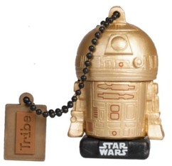 Clé USB Star Wars 16 Go (2017) - Gold R2D2