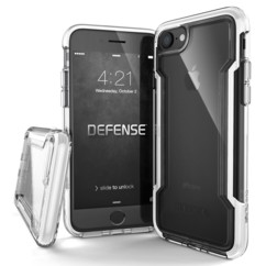 Coque renforcée pour iPhone 7 / 8 / SE 2020 : Defense Clear - Transparent