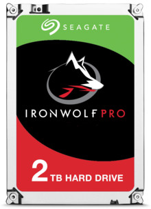 Disque dur 3.5 Seagate Iron Wolf Pro - 2 To