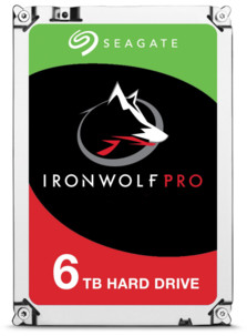 Disque dur 3.5 Seagate Iron Wolf Pro - 6 To