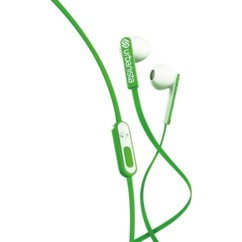 ecouteurs in ear intraauriculaires urbanista san franciso avec micro kit mains libres vert