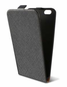 etui a clapet flip vertical akashi noir pour iphone 6 et 6s simili cuir