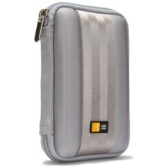 """etui de protection rangement transport pour disque dur externe 2,5"""" case logic qhdc 101g gris argent"""