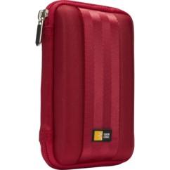 """etui de protection rangement transport pour disque dur externe 2,5"""" case logic qhdc 101r rouge"""
