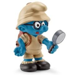 Figurine Les Schtroumpfs dans la jungle : le Schtroumpf à lunettes