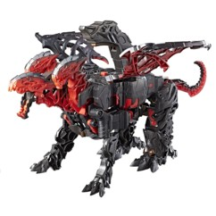 jouet robot transformable dragonstorm dragon a 3 tetes transformers the last knight dernier chevalier