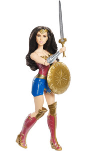 Figurine Wonder Woman (film 2017) - Défense Bouclier