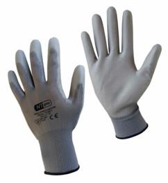 gants de travail en polyester et polyurethane nova pro pour bricolage et mecanique