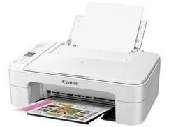 imprimante compacte multifonction avec scanner canon pixma TS3151 blanc avec wifi et cloud