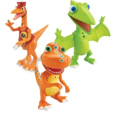 Jouet interactif Dino Train : Pack 3 personnages